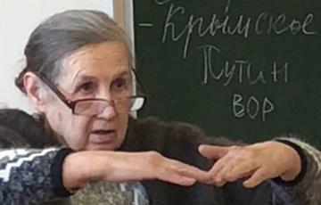 «В CCCР был бы расстрел!»: в РФ школьников отчитали за надпись «Путин – вор»