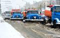 Бобруйчан занесло первым снегом