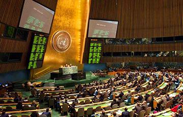 Беларусь голосовала против резолюции по ущемлению прав человека в Крыму
