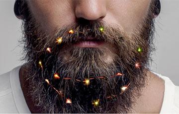 Фотофакт: В Великобритании начали продавать гирлянду для бороды