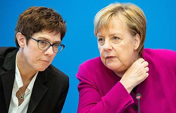 Reuters: Пераемніца Меркель можа не стаць канцлеркай Нямеччыны