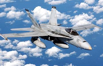 Над Японией столкнулись два американских военных самолета