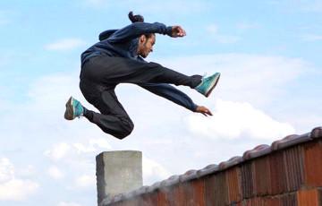 Паркур признан в Беларуси гимнастической дисциплиной