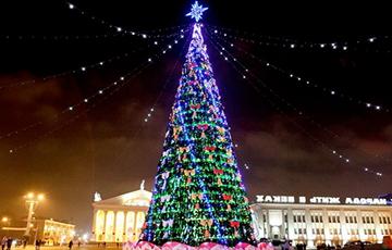 Как Минск подготовился к Новому году
