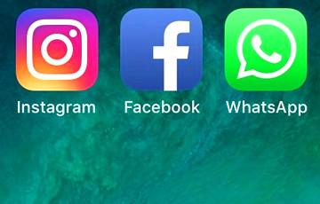 В работе WhatsApp, Instagram и Facebook произошел сбой