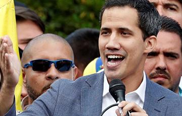 Хуан Гуайдо мае намер дамагчыся, каб дапамога ЗША трапіла ў Венесуэлу