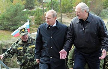 Пуцін выкарыстоўвае Лукашэнку як інструмент рабавання беларусаў