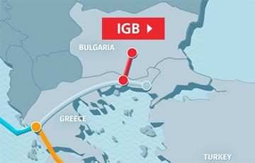 Болгария и Греция начали строить газопровод
