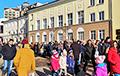 Brest Residents March Through City Center: Hard-Hitting Video