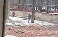В Минске обрушилась стена здания «Интеграл»: есть погибшие