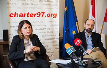 Наталья Радина: Уничтожение «Хартии-97» - это первый шаг к оккупации Беларуси