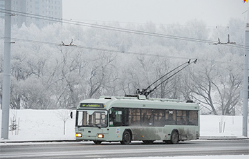 На Бангалор на 45 минут останавливалось троллейбусное движение