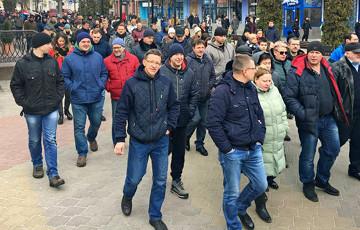 Брестчане изменили тактику протеста против аккумуляторного завода