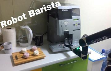 Белорусы сделали робота, который готовит кофе