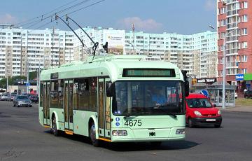 В Минске водители троллейбусов отказываются выходить на работу во вторую смену