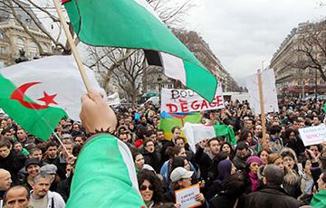 В Алжире тысячи демонстрантов призвали бойкотировать выборы президента