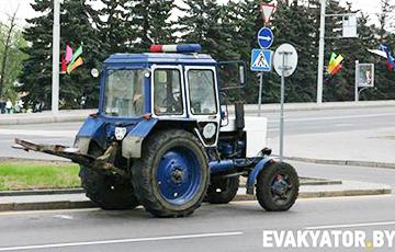 Відэафакт: Як «эвакуююць» аўтамабілі беларусаў