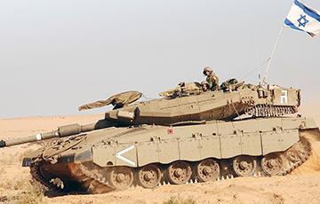Израиль перебросил танки к границе с Газой