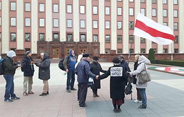 В Минске прошел молебен за избавление Беларуси от лукавого (Видео, онлайн)