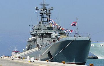 В Крыму сломался российский большой десантный корабль «Цезарь Куников»