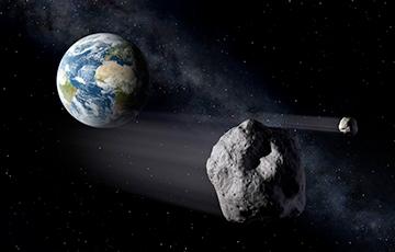 Астероид размером с дом приблизился к Земле