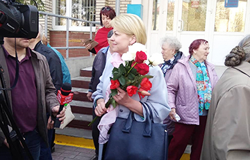 Case Against Leader Of Union Of Poles Andżelika Borys Terminated In Hrodna