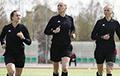 Впервые в истории Беларуси матч мужских команд обслужила женская бригада судей