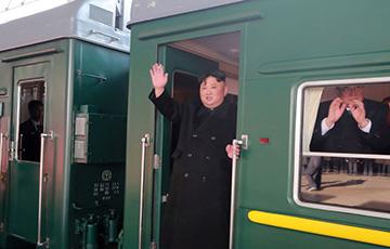 Ким Чен Ын прибыл на бронепоезде в Россию