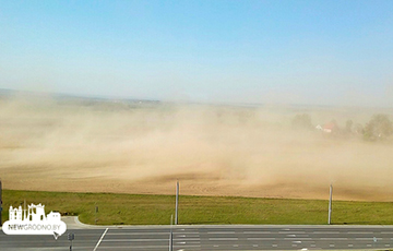 Videofact: Dust Storm From Africa Reached Belarus