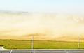Видеофакт: Песчаная буря накрыла Гродно, видимость упала до нуля