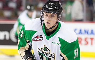 Алексей Протас оформил дубль за 15 секунд и был признан первой звездой матча WHL