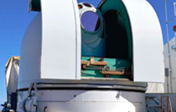 Лазер ВВС США сбил ракеты в воздухе