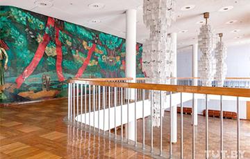 В Минске прячут под гипсокартон уникальную роспись