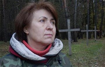 Ганна Шапуцька: Улада працягвае зьдзекавацца з забітых у 1930-я