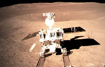 Китайский луноход совершил неожиданную находку в лунном кратере