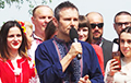 Фотофакт: Как Вакарчук представлял «первую пятерку» своей партии