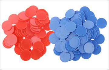Зарядка для ума: как определить цвет фишек
