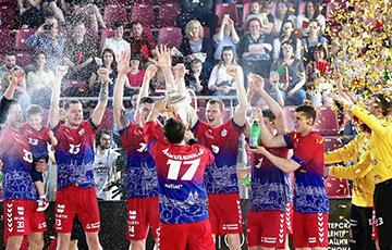 Гандболисты минского СКА в 7-й раз выиграли Кубок Беларуси