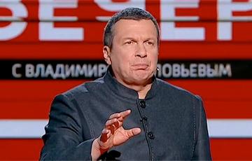 Расейскі прапагандыст Салаўёў прапанаваў узнагародзіць АМАПаўца, які ўдарыў жанчыну ў жывот