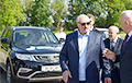 Уявім сітуацыю: Лукашэнка прыехаў у Александрыю на Geely
