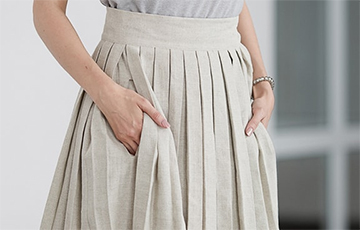 Белоруска придумала юбку-сумку, в которой удобно носить даже пиво