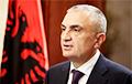 Прэзідэнт Албаніі склікае грамадзян на антыўрадавы пратэст