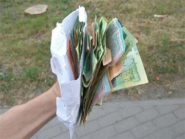 В Минске прошел «денежный дождь»