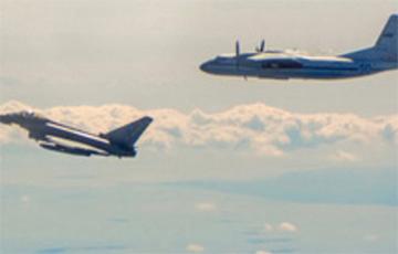 ВПС Брытаніі перахапілі два самалёты РФ каля Эстоніі