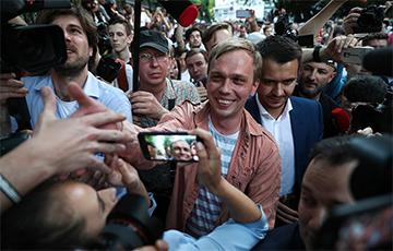 Российский журналист Голунов: Поддержка в мой адрес просто фантастическая