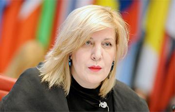 Комиссар Совета Европы Дуня Миятович решила посетить Крым