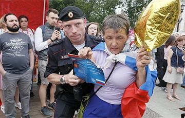 Фоторепортаж: Как в Москве проходил марш в поддержку Ивана Голунова