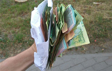 Знайшоўся гаспадар грошай, якія лёталі па цэнтры Менска