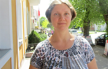 Palina Sharenda-Panasiuk: Such Miserable Power Is Sued In Civilized Countries