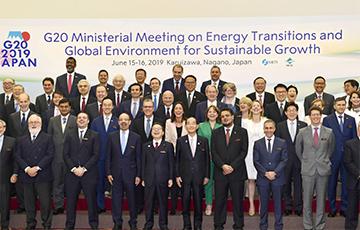 Міністры энэргетыкі G20 дамовіліся аб дзеяннях для стабілізацыі рынку нафты
